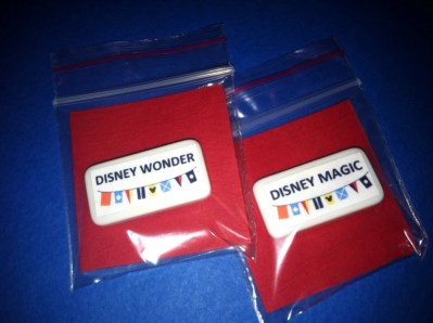 Set of 10 FE Gift Magnets-Disney Cruise Magnets