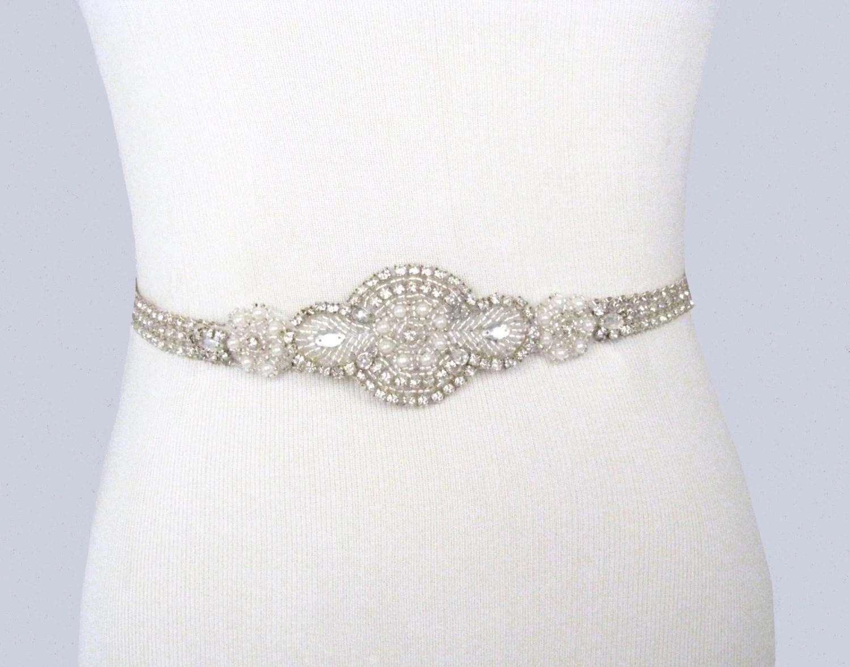 bridal sash rhinestone wedding belt wedding belts zoom