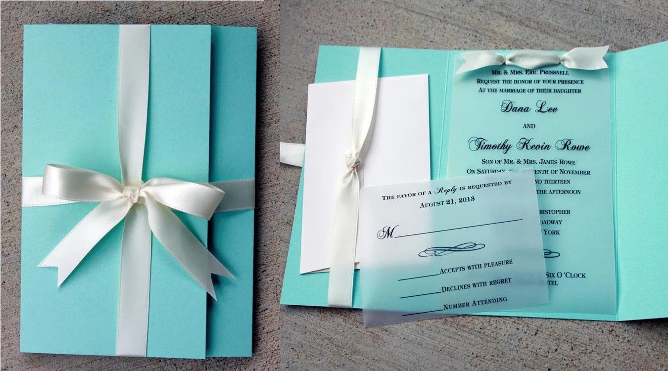 robins egg blue wedding invitation blue tiffany blue wedding invitations Turquoise wedding Blue zoom