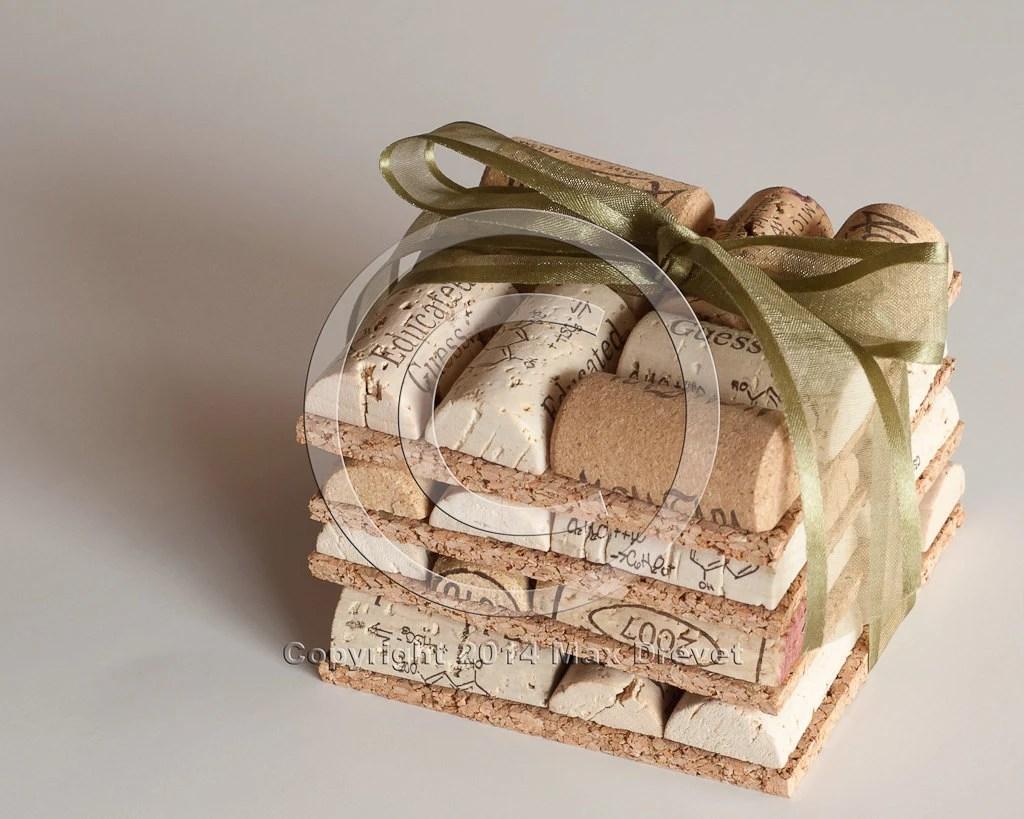 wedding favors wine cork coasters set of wedding favors wholesale zoom
