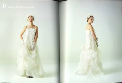 2 Way Wedding Dress Japanese Pattern Book by pomadour24 on ...