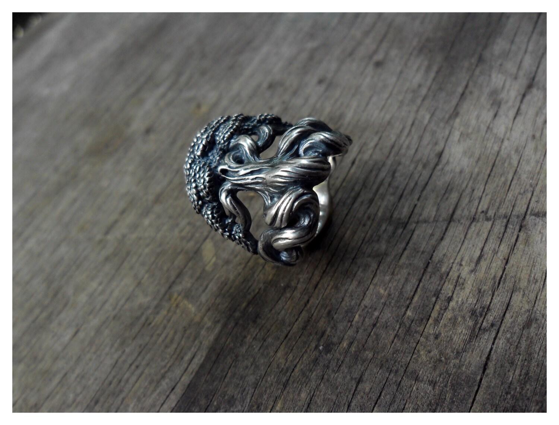 viking wedding ring viking wedding bands Yggdrasil the World Tree Sterling Silver Norse Viking Ring Man Wedding