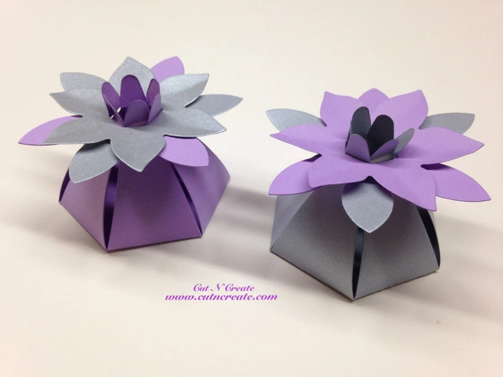 silver favor boxes wedding favor boxes Silver Wedding Favor Boxes Purple Wedding Favor Boxes Flower Favor Boxes Flower Favors Flower Favours Silver And Purple Wedding