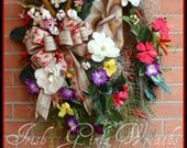 Louisiana Summer Wreath, ...