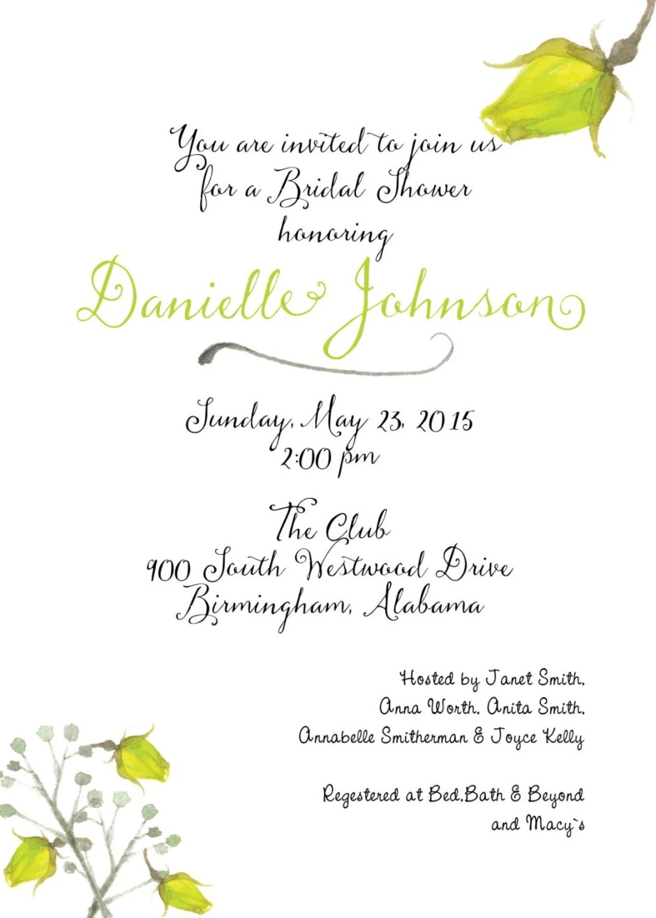 Save the date invitations...