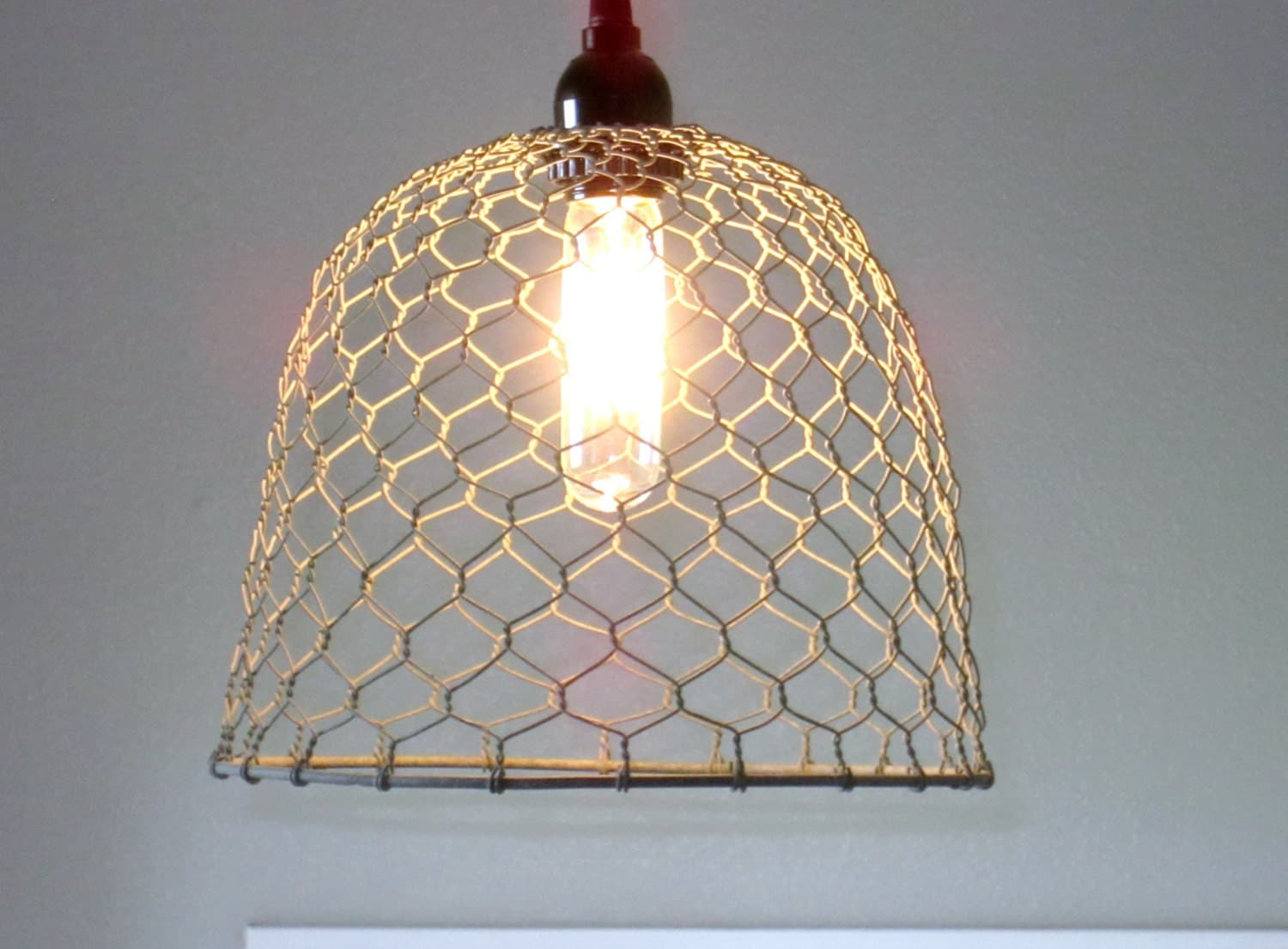 farmhouse chandelier farmhouse kitchen lighting Rustic Pendant Lighting chicken wire farmhouse pendant light lighting rustic lighting kitchen lighting