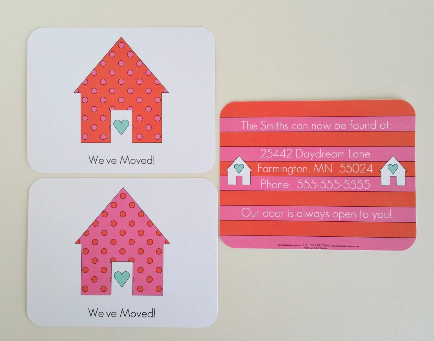 Fullsize Of Weve Moved Cards
