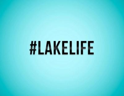 Lake Life Hashtag Sticker / Vinyl Decal / Laptop Stickers