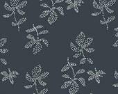 Lotta Jansdotter Fabric - Lucky - Emes in Midnight Navy