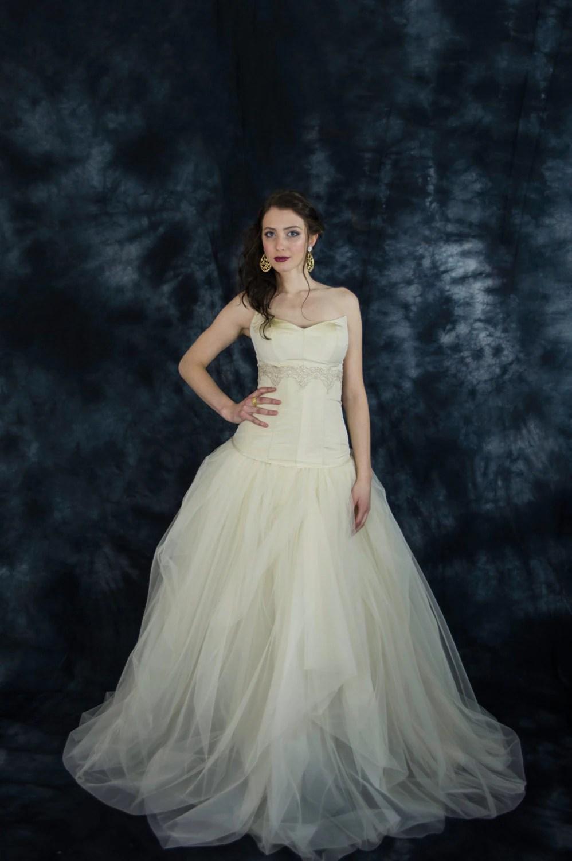 corset wedding dress beige wedding dress Champagne silk bridal corset gold wedding corset beige wedding corset beige weddding separates two piece wedding dress bridal separates