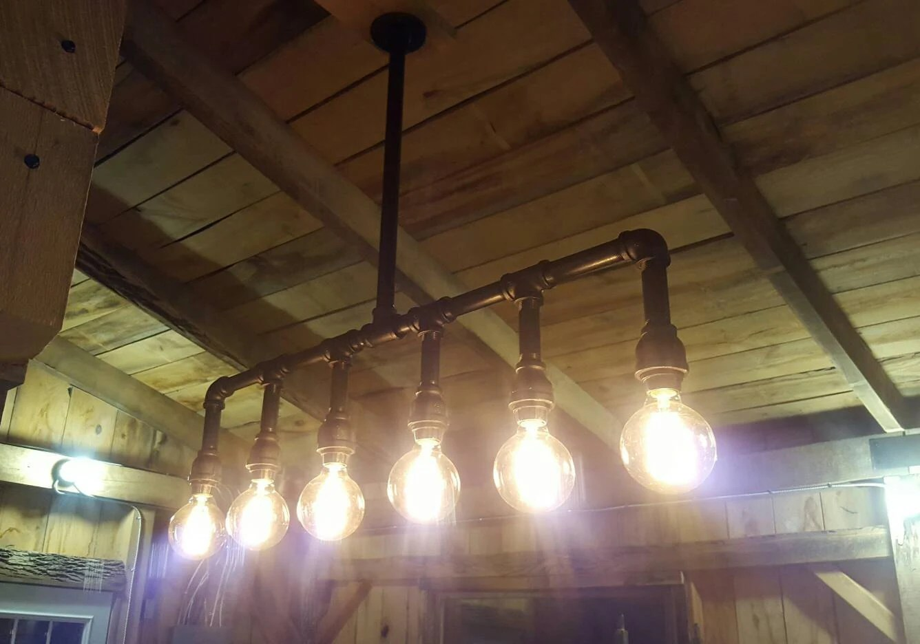 industrial lighting industrial kitchen lighting Industrial Lighting Rustic Kitchen Island Ceiling Light Modern Industrial Edison Bulb Kitchen Chandelier Farmhouse Lighting FREE SHIPPING