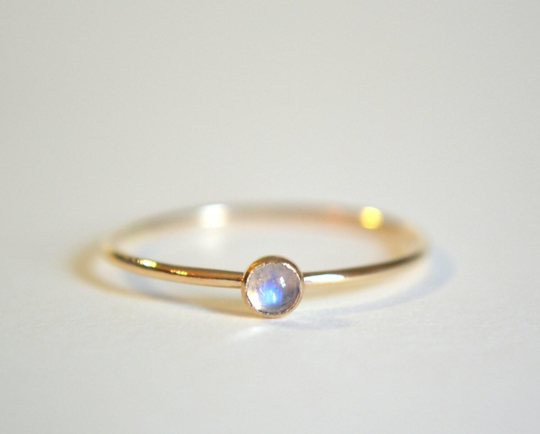 moonstone ring moonstone wedding ring sets Gold Moonstone Ring Gold Filled Moonstone Ring Moonstone Ring Gold Rainbow Moonstone Ring Stacking Ring Dainty Ring Stackable Ring