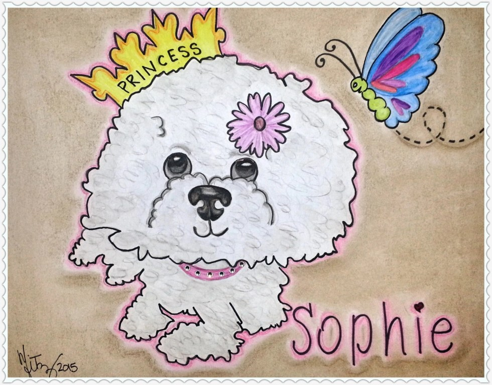 Custom Pet Drawing, Custo...