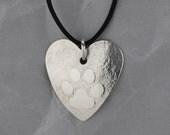 Silver Dog Paw Pendant, F...