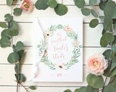 Floral Wedding Guestbook ...