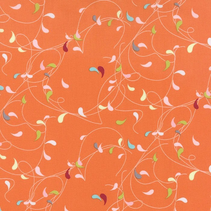 Flow by Zen Chic - Splash - Orange