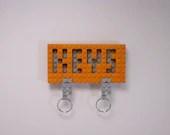 Orange LEGO Key Organizer...