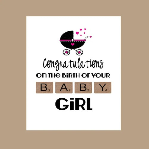 Medium Crop Of Congratulations On Baby