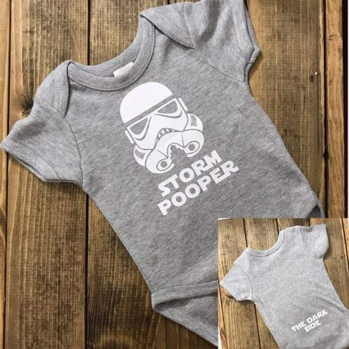 Medium Of Star Wars Baby Shower