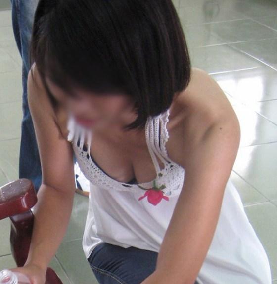 【女の子エロ画像】女の子たちの谷間パラダイス「ハプニング」画像集めてみましたww 04