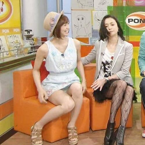 【放送事故画像】テレビでなんてエロい表情するんだこの女達は! 12