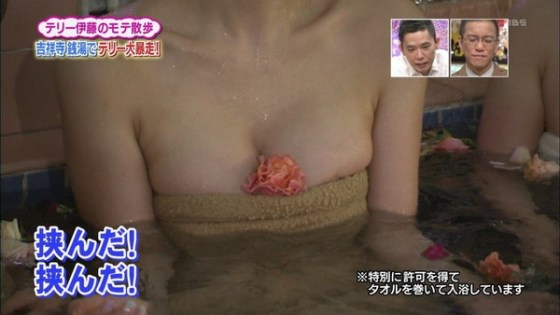 【放送事故画像】テレビでこんなにも自分のオッパイ晒す女達!なんなんだ君達はww