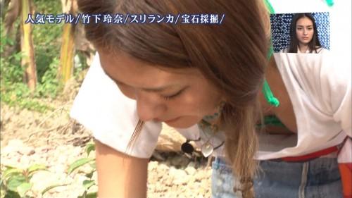 【放送事故画像】テレビでこんなにも自分のオッパイ晒す女達!なんなんだ君達はww 17