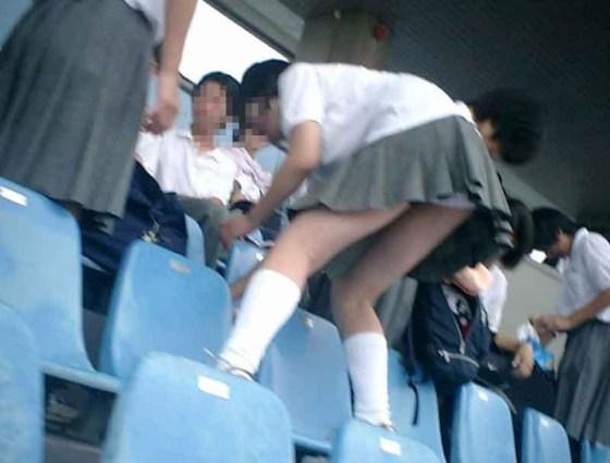 【放送事故画像】甲子園始まったし応援席のハプニング画像うPするわ! 01