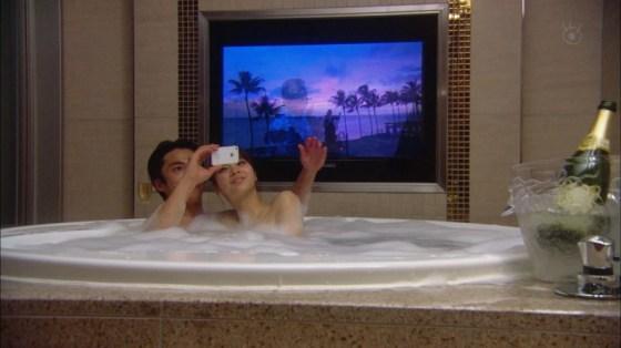 【入浴キャプ画像】際どいシーン満載の温泉レポ!いつポロリしてもおかしくないぞww 13