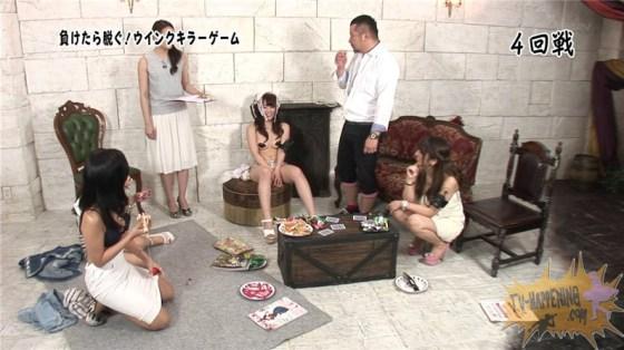 【お宝エロ画像】バコバコTVの犯人当てゲームで美女が脱ぎまくる!?一体どこまで脱ぐんだwww 12