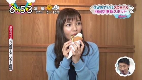 【擬似フェラ画像】エロい顔してカメラの前で食レポしてるタレント達に思わず股間が反応www 10