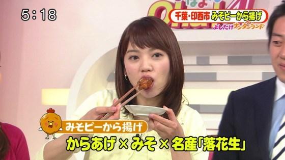 【擬似フェラ画像】エロい顔してカメラの前で食レポしてるタレント達に思わず股間が反応www 11