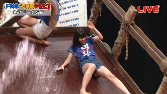 【放送事故画像】テレビでお股クパーしてマンコ注意な女性芸能人達wwww 21