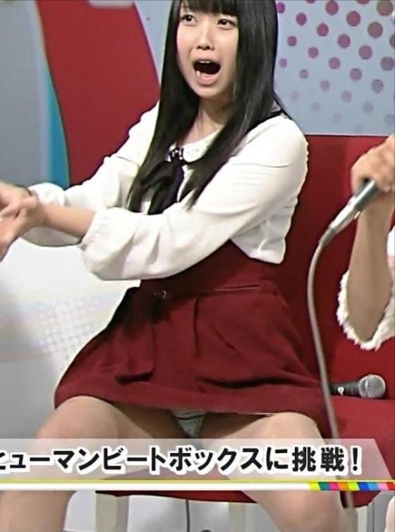 【放送事故画像】TVでパンツが見えてる?んなアホなww見えてるじゃない!! 13