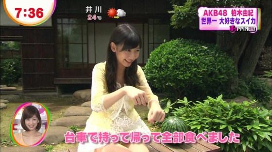 【放送事故画像】テレビでパンチラの期待値が高めな女性タレント達ww 20