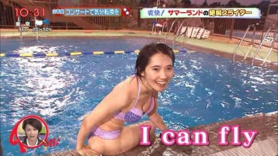 【水着キャプ画像】夏本番!こぞってテレビでも水着美女を紹介し始めましたよwww 16