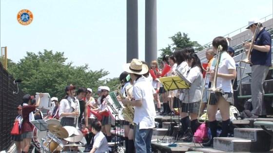 【甲子園エロ画像】この時期甲子園のスタンドはJKのパンツや透けブラが見放題になるww 20