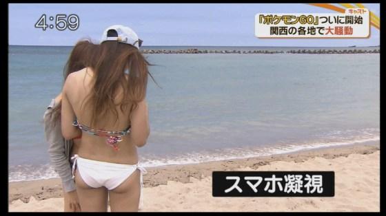 【お尻キャプ画像】テレビでプリップリのお尻が映ると思わず股間がピクつくんだがww