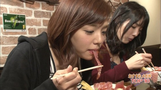 【擬似フェラ画像】エロすぎる顔で食レポする女子アナ達のこの表情を見てやってくれwww 02