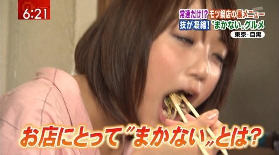 【擬似フェラ画像】エロすぎる顔で食レポする女子アナ達のこの表情を見てやってくれwww 07