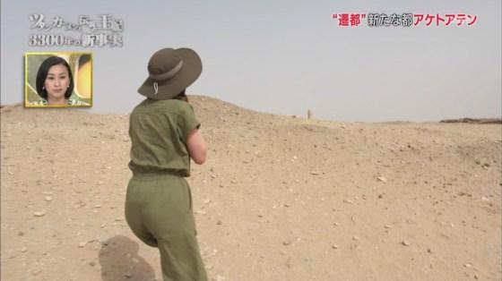 【お尻キャプ画像】女子アナ達のパン線浮きまくりなお尻がむっちりエロすぎるww 16