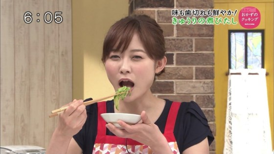 【擬似フェラキャプ画像】女子アナやアイドルって食レポの時にわざとこんなエロい顔してるのか?ww 10