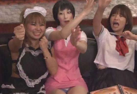 【テレビキャプ画像】不覚にも女芸人の身体で勃起してしまうワンシーンがこちらww 14