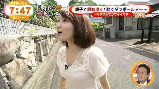 【透けブラキャプ画像】薄いシャツ何か着てるとブラジャー透けちゃってモロに見えちゃってますよww 05
