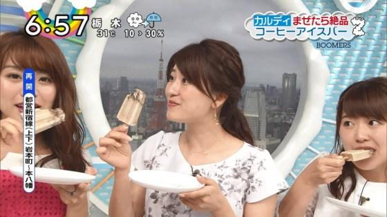 【擬似フェラ画像】食レポと言いつつ卑猥な顔をテレビに晒される女子アナやアイドル達ww 06