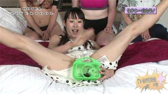 【お宝エロ画像】またまたバコバコTVがやらかした!!透け透けパンツでお股ぱっくり大開脚www 03