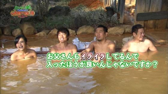 【温泉キャプ画像】バスタオル一枚でテレビに出ちゃうタレント達の身体のシルエットがエロすぎww 09
