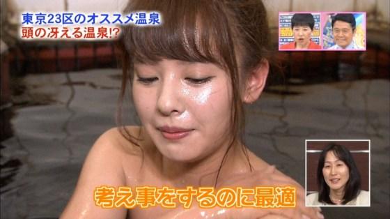 【温泉キャプ画像】タレントの入浴シーンが見れる貴重な温泉レポ!エロい裸体画安易に想像できちゃうw 24