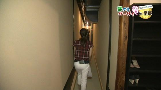 【お尻キャプ画像】女子アナの綺麗なヒップラインが丸わかりのピタパンお尻がエロッww 23