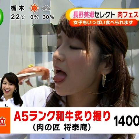 【放送事故画像】フェラ顔満開でやらしくテレビで食事する女達! 19